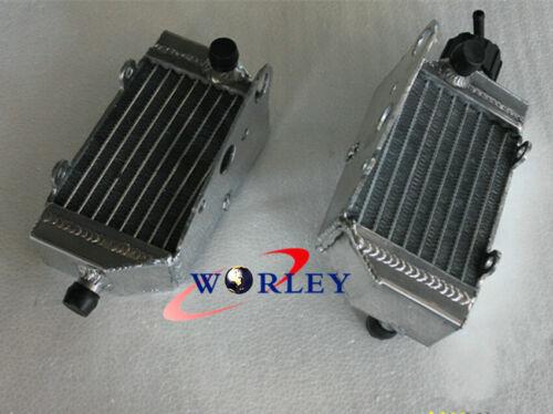 Aluminum Radiator For KTM 50 SX//SXS Mini 49cc//50cc 2012-2018 2016 2015 2013 2012