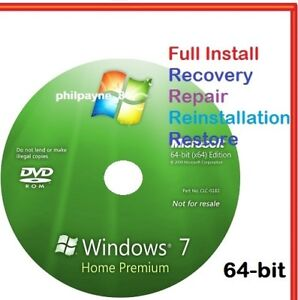 windows 7 home premium recovery cd