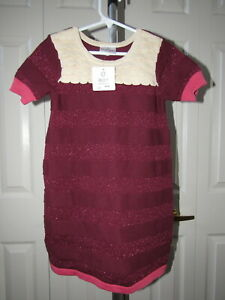 NWT Gymboree Knit Sweater Short Sleeve Dress Choice NEW