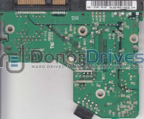 WD SATA 3.5 PCB WD800JD-75LSA0 2061-701335-A00 AG