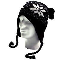 cf171d46441 item 1 New Warm Knit Pom Pom Earflap Beanie Winter Ski Hat Cap Skull For Men    Women. -New Warm Knit Pom Pom Earflap Beanie Winter Ski Hat Cap Skull For  Men ...