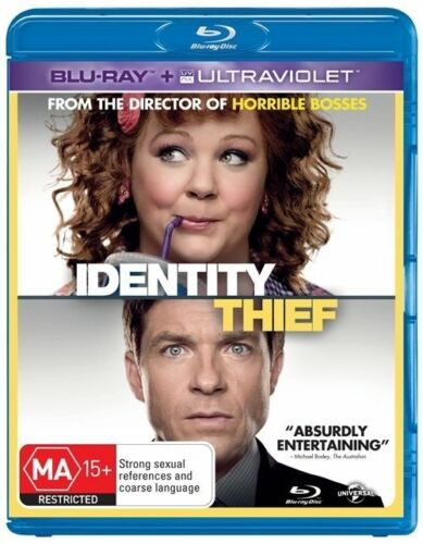 1 of 1 - Identity Thief (Blu-ray, 2013) +Priority Post