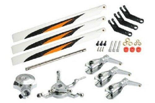 MICROHELI Triple arancia Blade Conversion set - 230 S MHE230S001TO