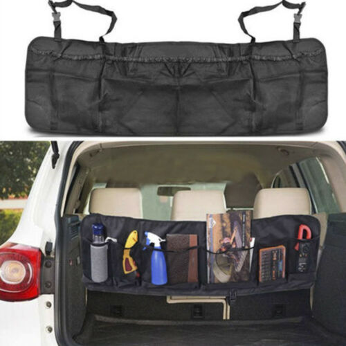 Auto Car Seat Back Multi-Pocket Storage Bag Organizer Holder Accessory Bag