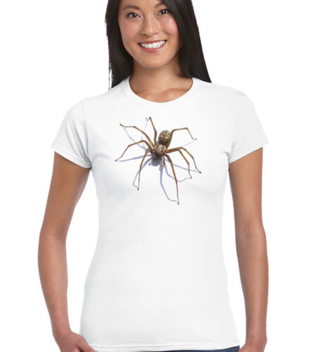 Spider Femme Drôle T-Shirt Halloween Arachnophobia Costume Robe Fantaisie Blague