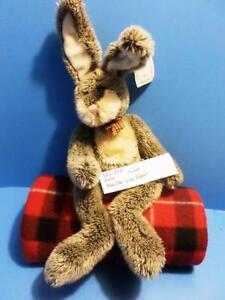 Russ Hamilton Grey Rabbit beanbag plush(310-2381)