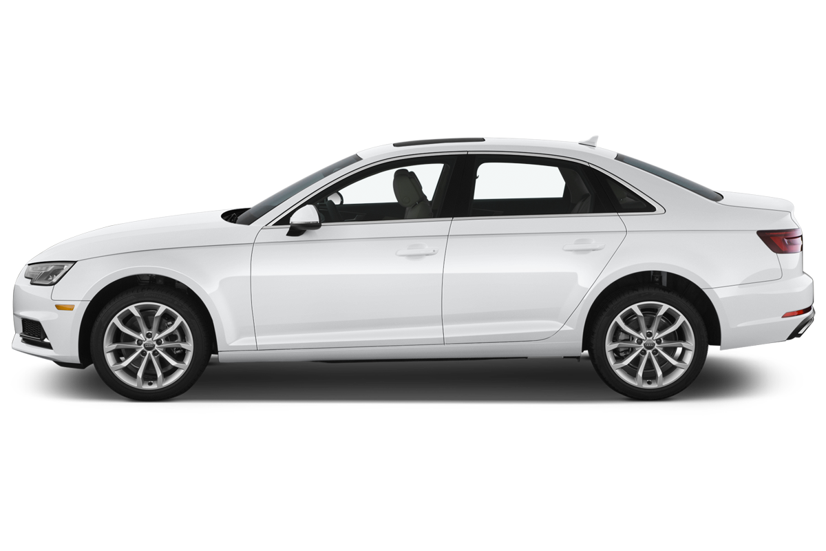 Audi A4 side view