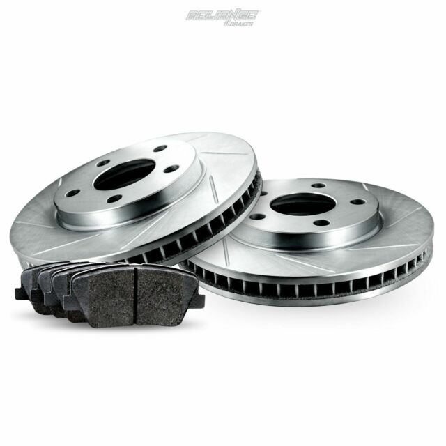 Rear Slotted Brake Rotors And Ceramic Brake Pads For 2013