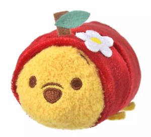 Disney Plush doll TSUM TSUM Winnie the Pooh S Apple Japan NEW Disney Store