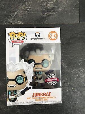 Junkrat junkenstien Exclusivo Funko Pop