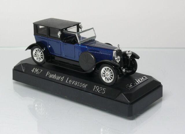 Solido 4167 1:43 Panhard Levassor 1925 EMBALLAGE D'ORIGINE