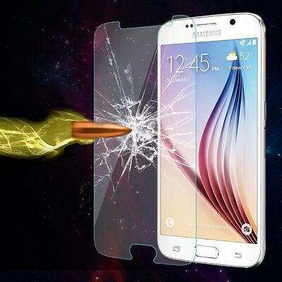 100% Genuine Tempered Glass Film Screen Protector For Samsung Galaxy Cell Phones
