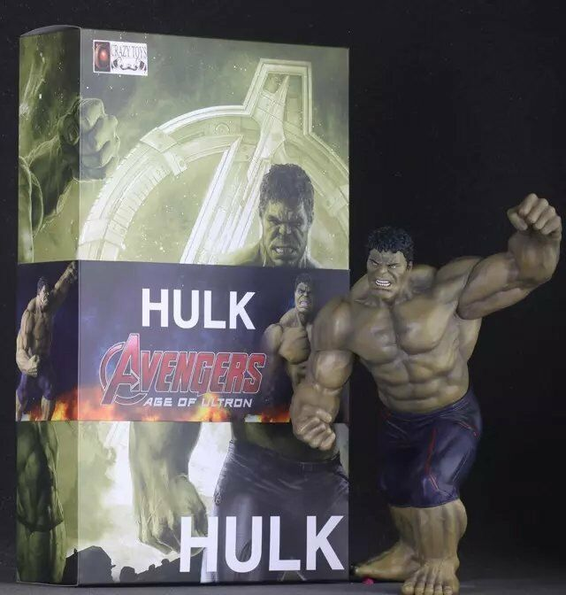 Crazy Toys HULK Marvel Universe Avengers Age of Ultron The IncROTible Figure Toy