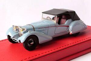 Bugatti T57sc Roadster Vanden Plas 1937 # 57541 Original 1/43 Evrat Limit. 60 Ex