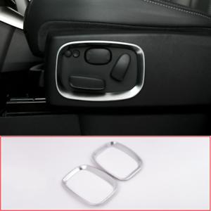 2pcs-Chrome-Car-Side-Seat-Adjustment-Frame-Trim-For-Range-Rover-Sport-2010-2013