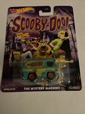 HOT WHEELS PREMIUM SCOOBY DOO THE MYSTERY MACHINE 1//64 Scale FREE SHIPPING