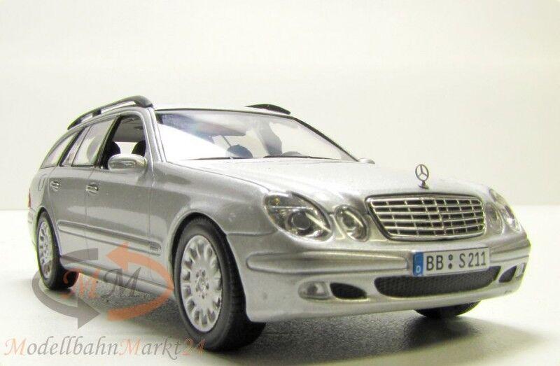 MINICHAMPS Mercedes-Benz E-Klasse T-Model brilliantsilber-metallic 1 43 - OVP
