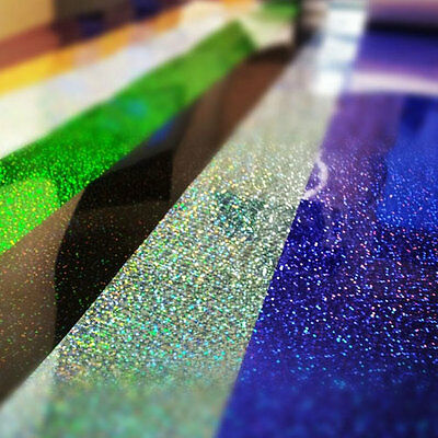 A4 1m ROLL OF T-SHIRT SPARKLE GLITTER VINYL HEAT PRESS VINYL TRANSFER PAPER