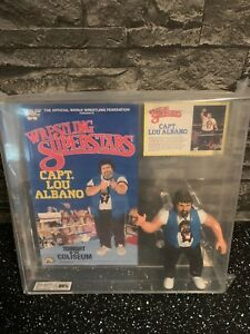 Wwf Ljn Wrestling Superstars Personnages Capitaine Lou Albano Ukg80