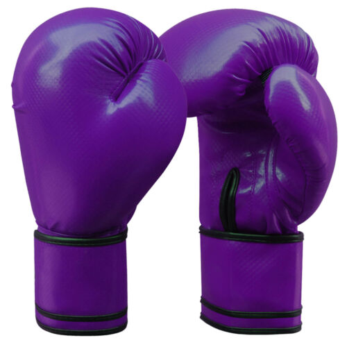 Leather Boxing Gloves Focus Pad Set Hook /& Jab Sparring Punchbag Junior /& Adults