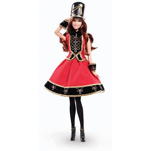 FAO Schwarz Soldier Barbie doll NRFB brunette