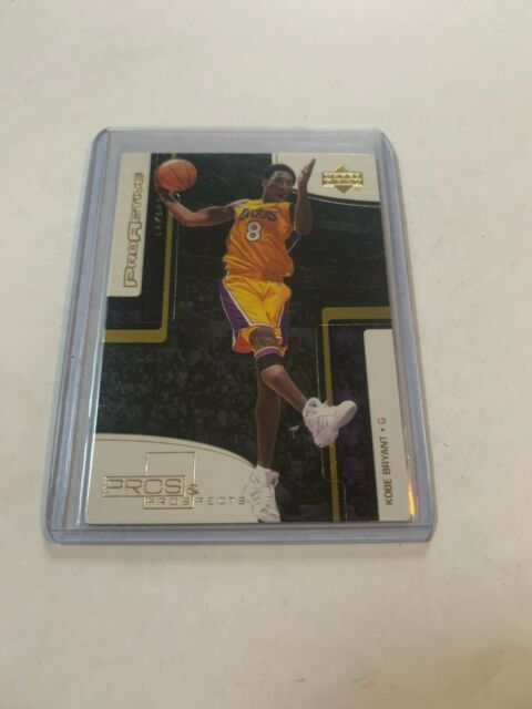 KOBE BRYANT 2000 2001 UD Upper Deck Pros and Prospects ProActive Insert Lakers