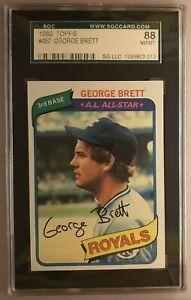 1980-TOPPS-GEORGE-BRETT-KANSAS-CITY-ROYALS-450-SGC-88-8-NEAR-MINT-TO-MINT