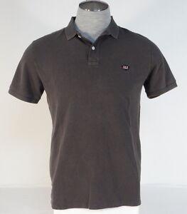 Ralph Lauren Denim /& Supply Vintage White Distressed USA Flag Polo Shirt Men/'s