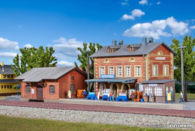 NEU Spur N Bahnhof Rauenstein mit Güterschuppen Kibri 37396