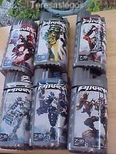 Lego Bionicle PIRAKA Figures Set of 6 Complete in Box Boxes & instructions