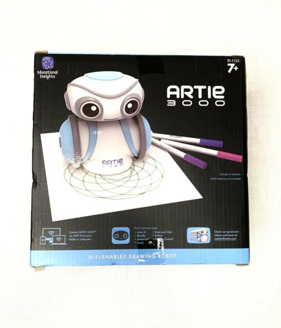 Educational Insights Artie 3000 The Coding Robot: STEM Toy ...