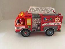 M&M's Fire Truck Candy Dispenser Lights Up and Siren Sound No Box 2011 M&M