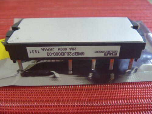 NEW  ORIGINAL MODULE  6MBP20JB060-03 FUJI BOX M