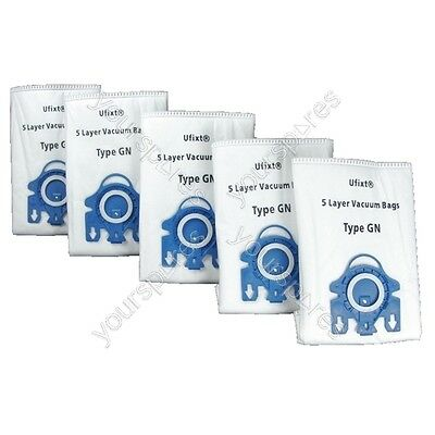 Miele Tt5000 Vacuum Bags Type Gn X 5 + 2 Filters