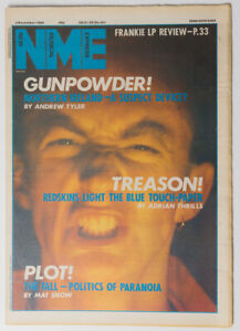 NME magazine 3 November 1984 REDSKINS Jesus and Mary Chain The Fall
