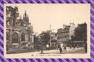 CPA-14-CAEN-place-st-pierre
