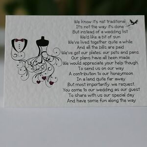 Wedding-Poem-Cards-money-cash-gift-choice-of-4-poems-bride-and-groom-swirl