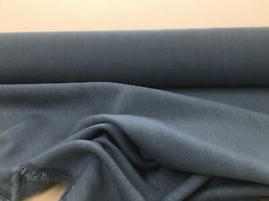 Wiltshire-Flax-Linen-Blend-Pitch-Blue-140cm-wide-Curtain-Upholstery-Fabric