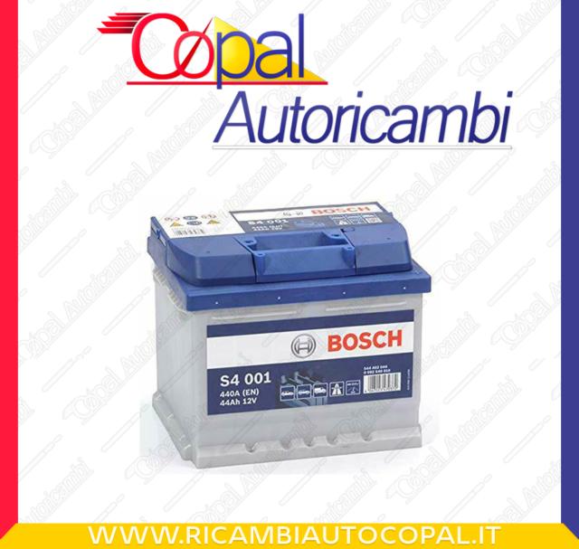 Batteria auto BOSCH S4001 44AH 440A cod. 0092S40010 Battery