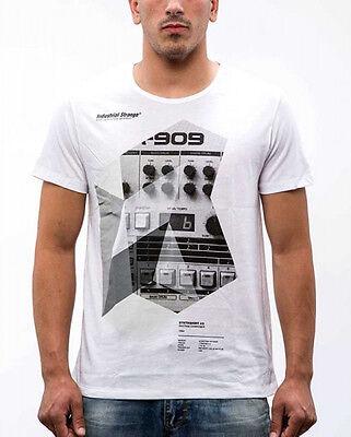 T-Shirt MAGLIETTA UOMO Music DJ Party Club Discoteca Musica Synth