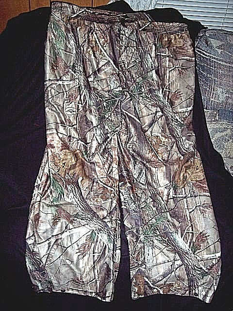 Mens 3X Camo Rain Pants Realtree Camo Pants Non  Insulated Camo Hunting Pants  60  large discount