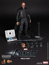 Hot Toys MMS169 The Avengers Nick Fury 1/6 Scale 12 Inch Collectible Figure