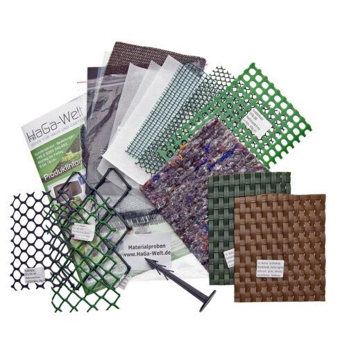 Matériau des échantillons de la marque Haga ® dans le domaine nappes jardin nappes protect.