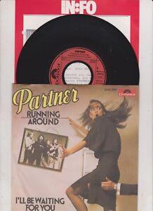 7-034-Vinyl-Partner-RUNNING-AROUND-I-LL-BE-WAITING-FOR-YOU-1979