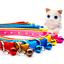 thumbnail 3 - Cute Anchor Sailor Cat Collar Adjustable  Bell Kitten Puppy Snap Buckle 19-31cm