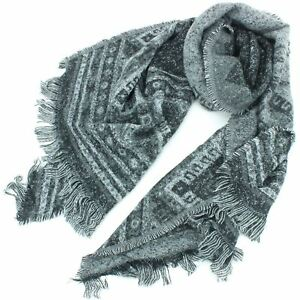 Cotton Scarf Thin Soft Embroidered Woven BOHEMIA SWEDEN Ladies Lightweight
