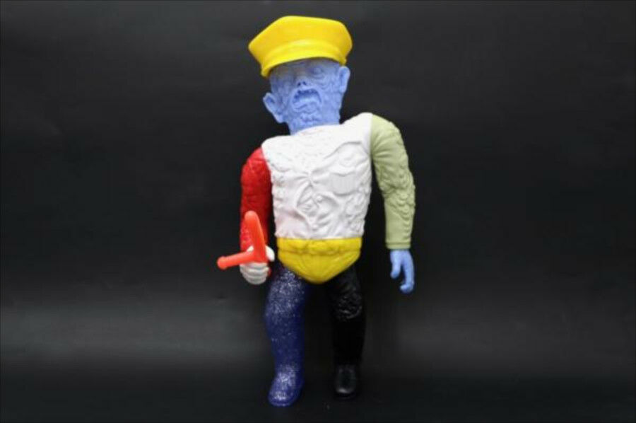 New item Violence Toy Mutant Cop Mixed Farbe Parts Violence Toy soft vinyl F S