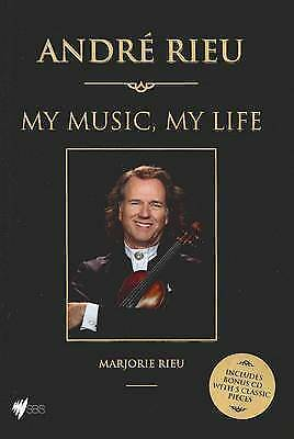 1 of 1 - NEW ANDRE RIEU: MY MUSIC, MY LIFE Marjorie Rieu W/ Sealed CD