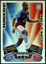 Darren Bent #366 Topps Match Attax Football 2011-12 Trade Foil Card (C208)
