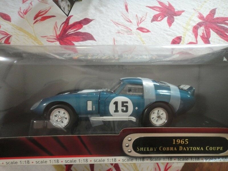Shelby Cobra Diecast Deluxe Edition Yat Ming 1 18 escala 1965
